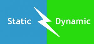 تفاوت وب سایت های استاتیک و داینامیک