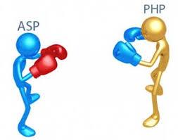 تفاوت طراحی سایت با زبان های Php و Asp