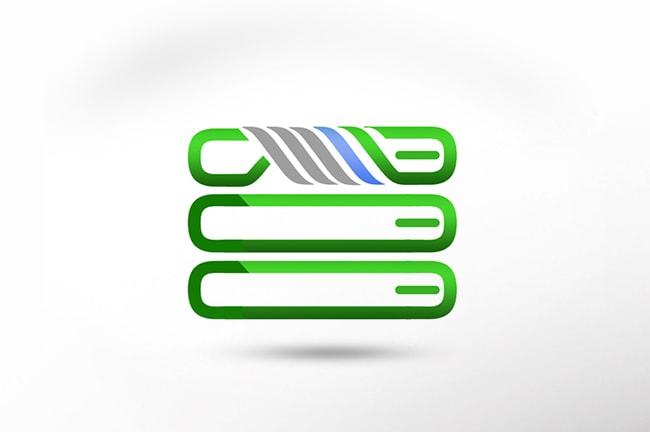 طراحی لوگو سرور