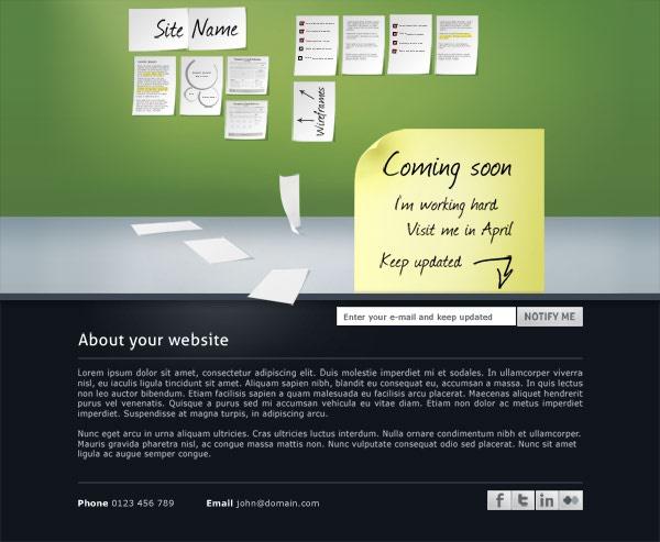 قالب سایت گرافیکی