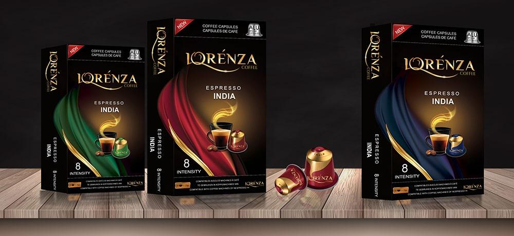 طراحی محصولات قهوه